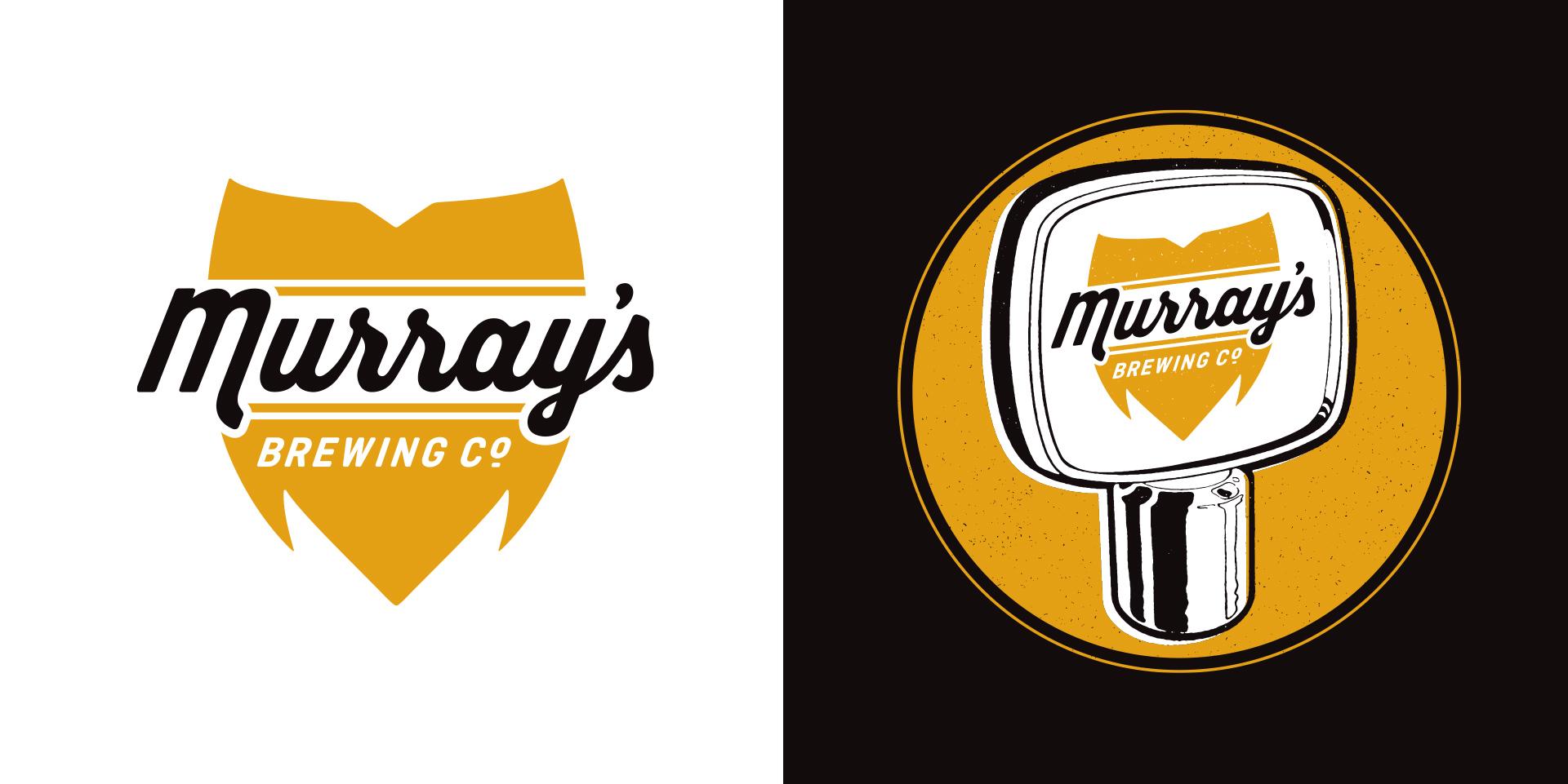 Honey Rogue Design Branding Murray's Brewing