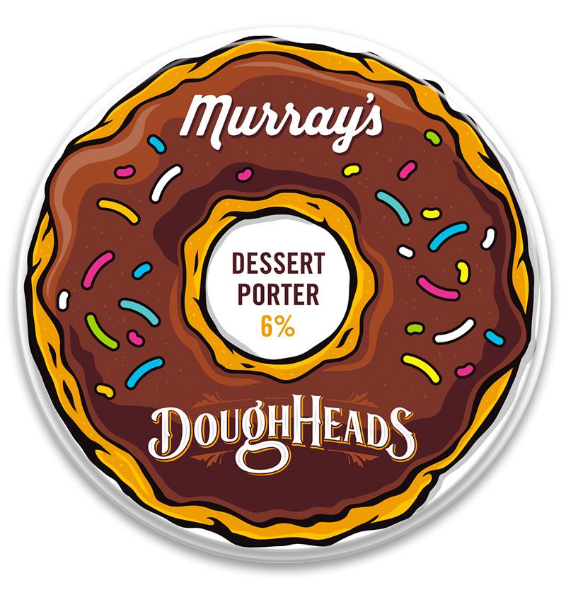 Honey Rogue Design Branding Murray's Brewing Decal