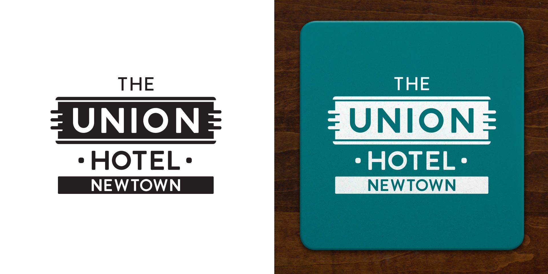Honey Rogue Design Branding Union Hotel Newtown
