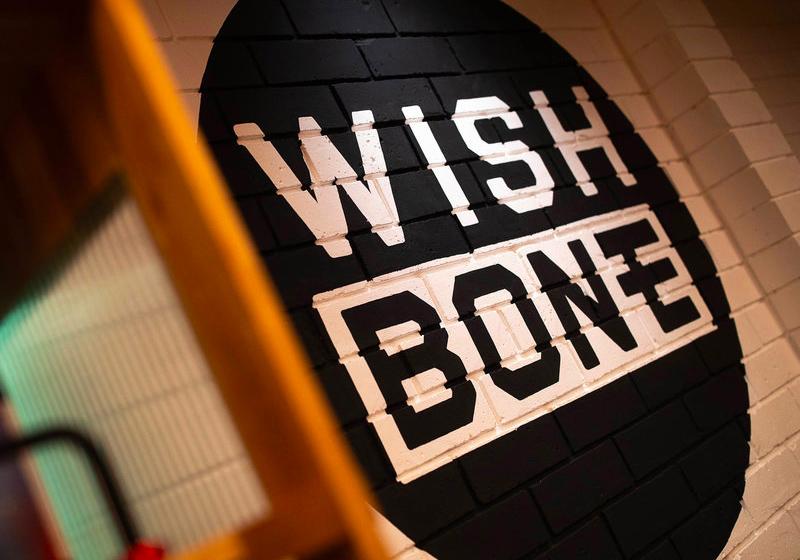 Honey Rogue Design Branding Wish Bone Restaurant