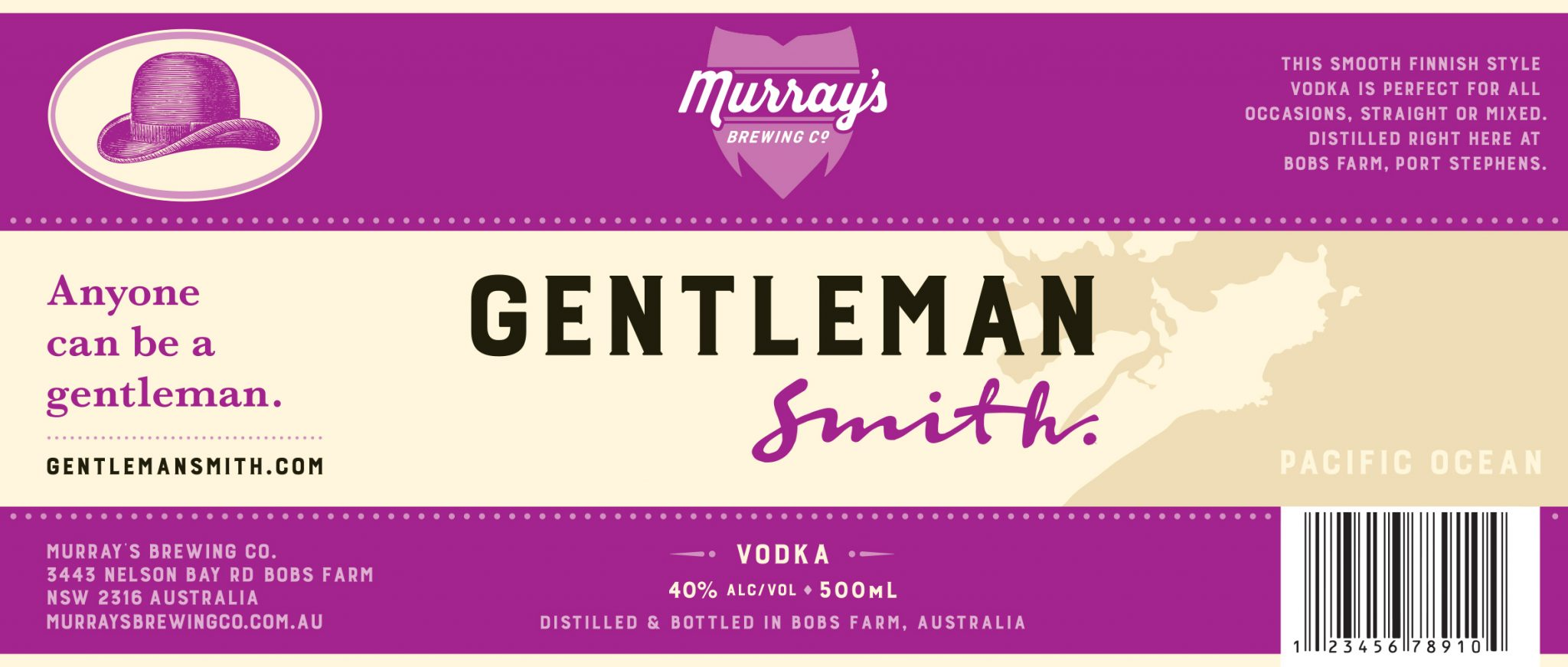 Honey Rogue Design Packaging Murrays Brewing Gentleman Smith