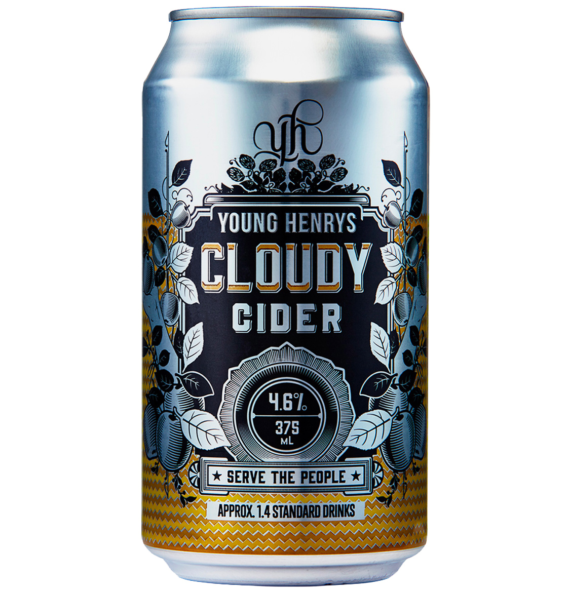 Honey Rogue Design Packaging Young Henrys Cloudy Cider