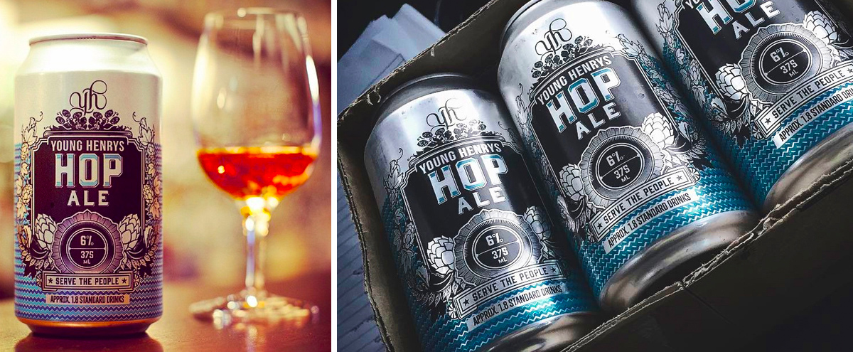 Honey Rogue Design Packaging Young Henrys Hop Ale