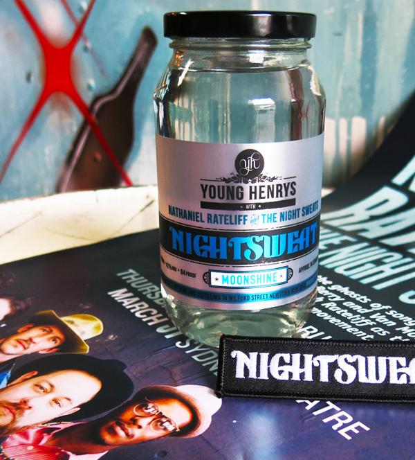 Honey Rogue Design Packaging Young Henrys Nightsweat