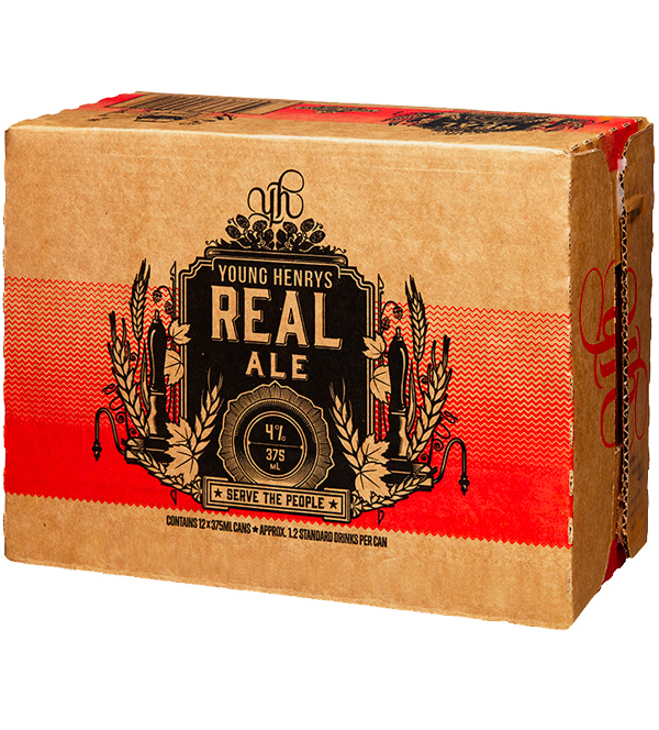 Honey Rogue Design Packaging Young Henrys Real Ale