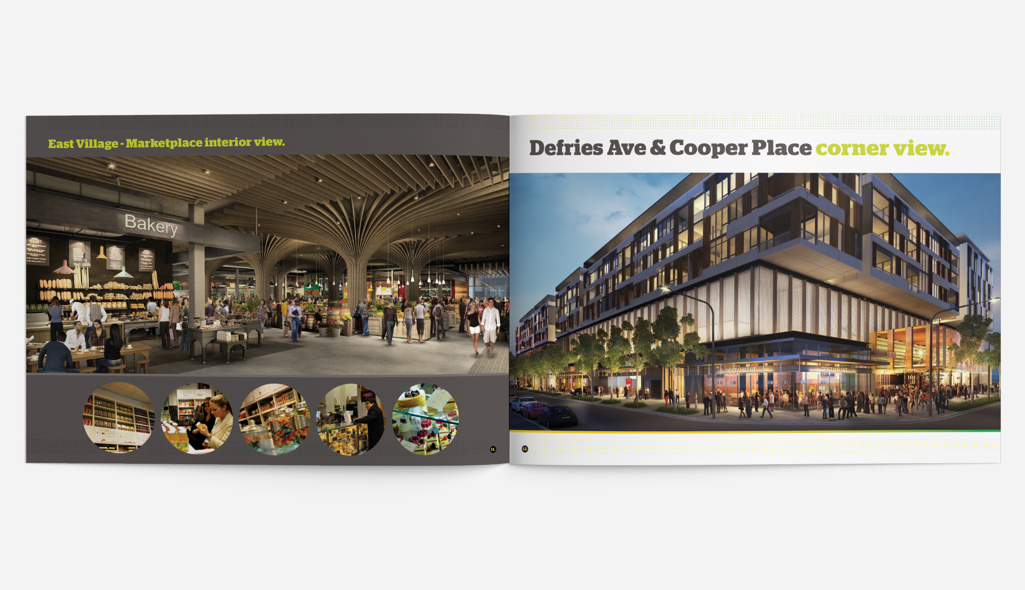 Honey Rogue Design East Village Victoria Park Leasing Brochure