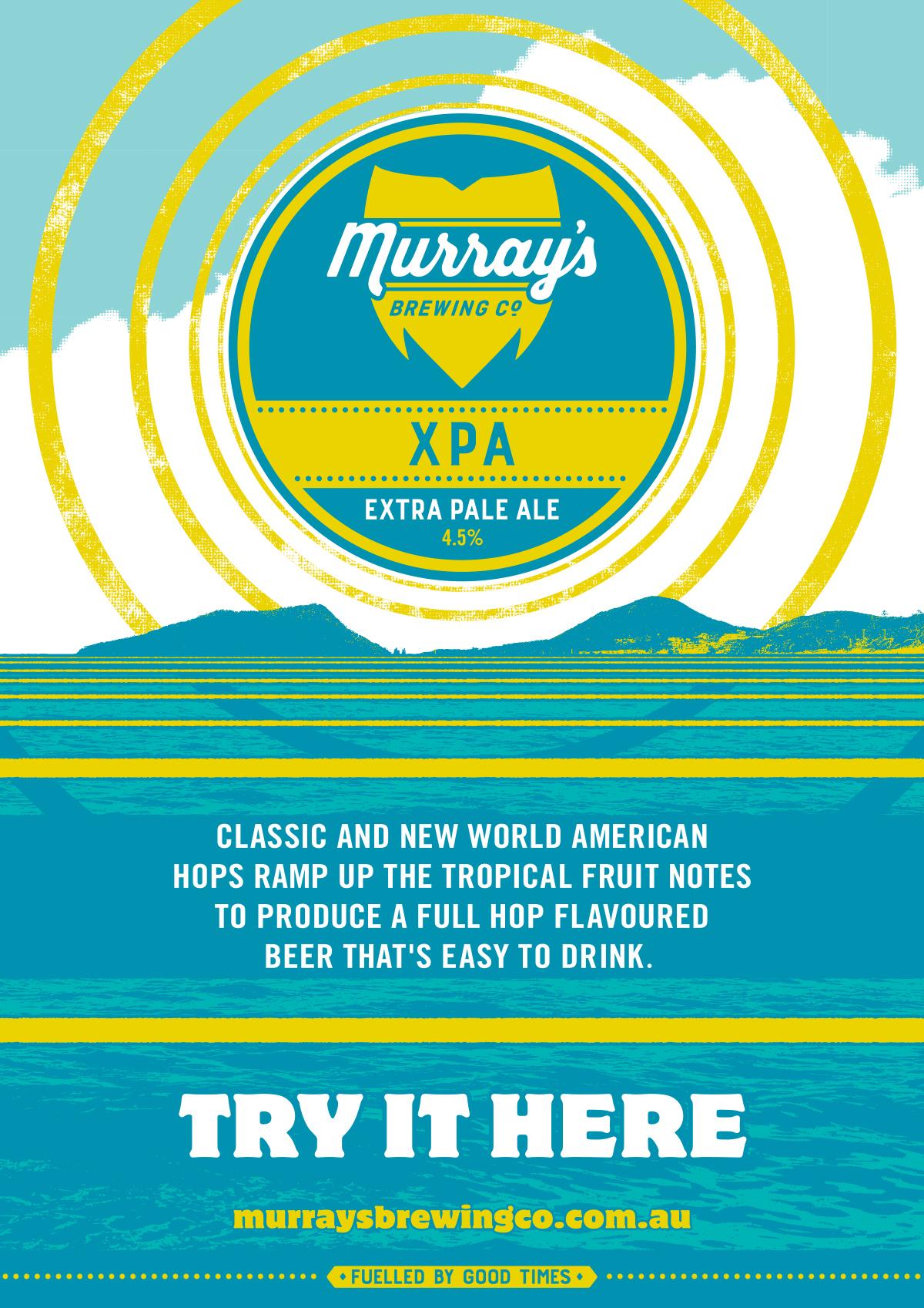 Honey Rogue Design Branding Murray's Brewing Posters