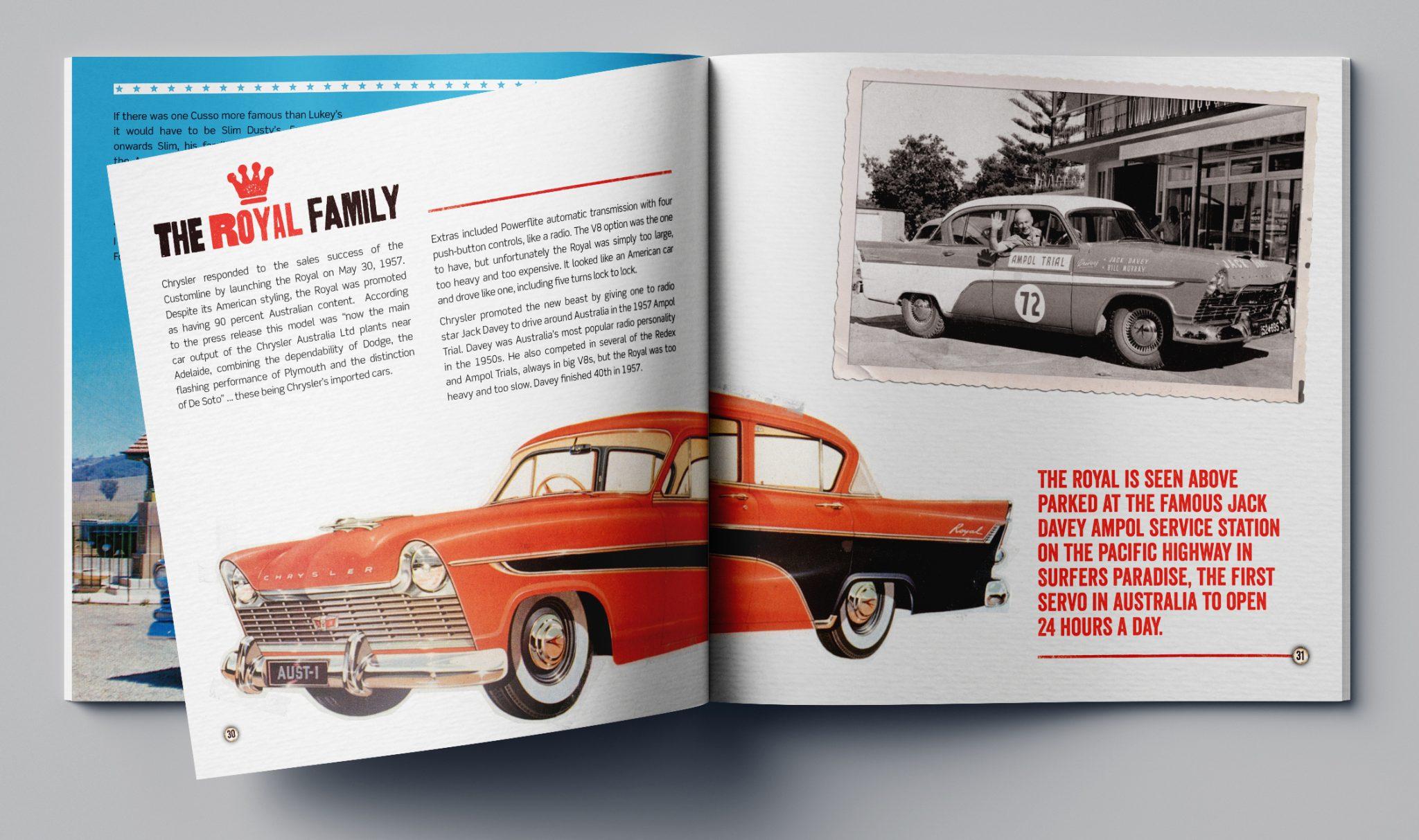 Honey Rogue Design Muscle Car Mania Book Design