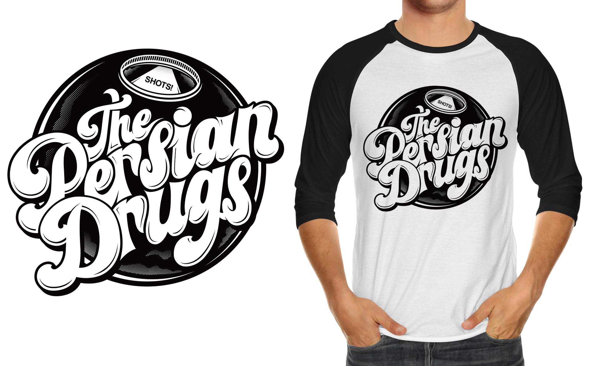 Honey Rogue Design Shirt Artwork The Persian Drugs