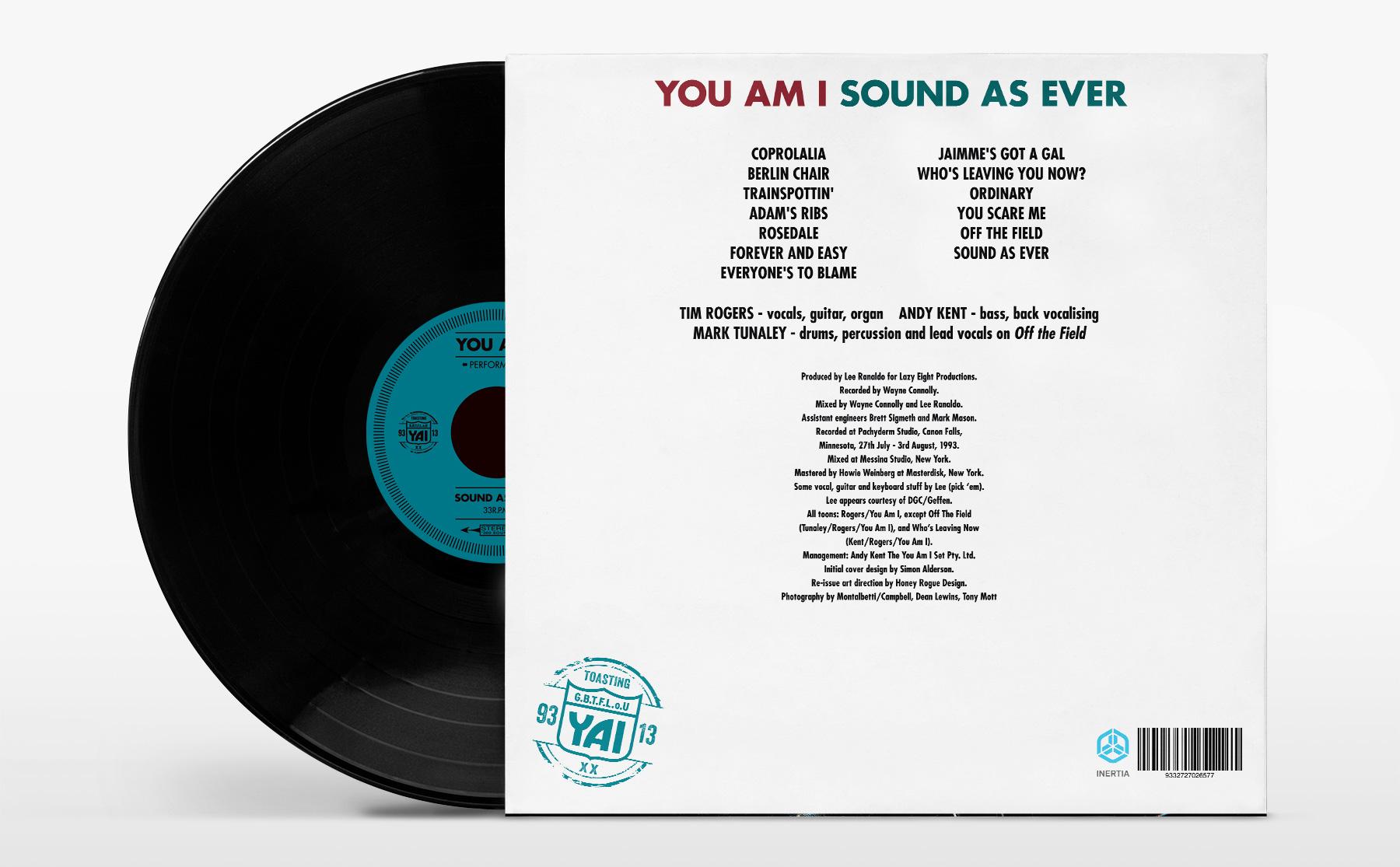 Honey Rogue Design You Am I Sound As Ever Reissue