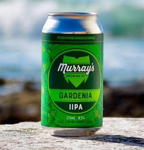 Honey Rogue Design Packaging Murrays Brewing Gardenia