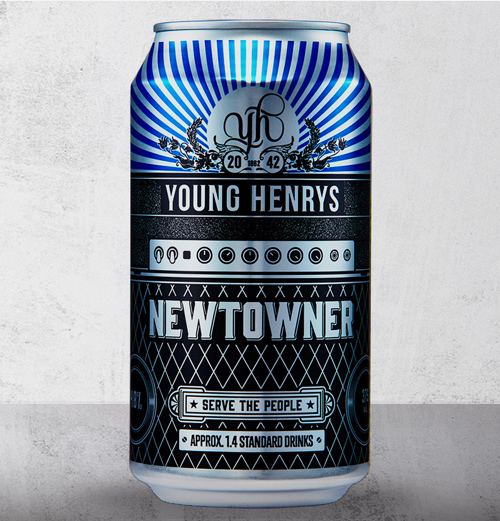 Honey Rogue Design Packaging Young Henrys Newtowner