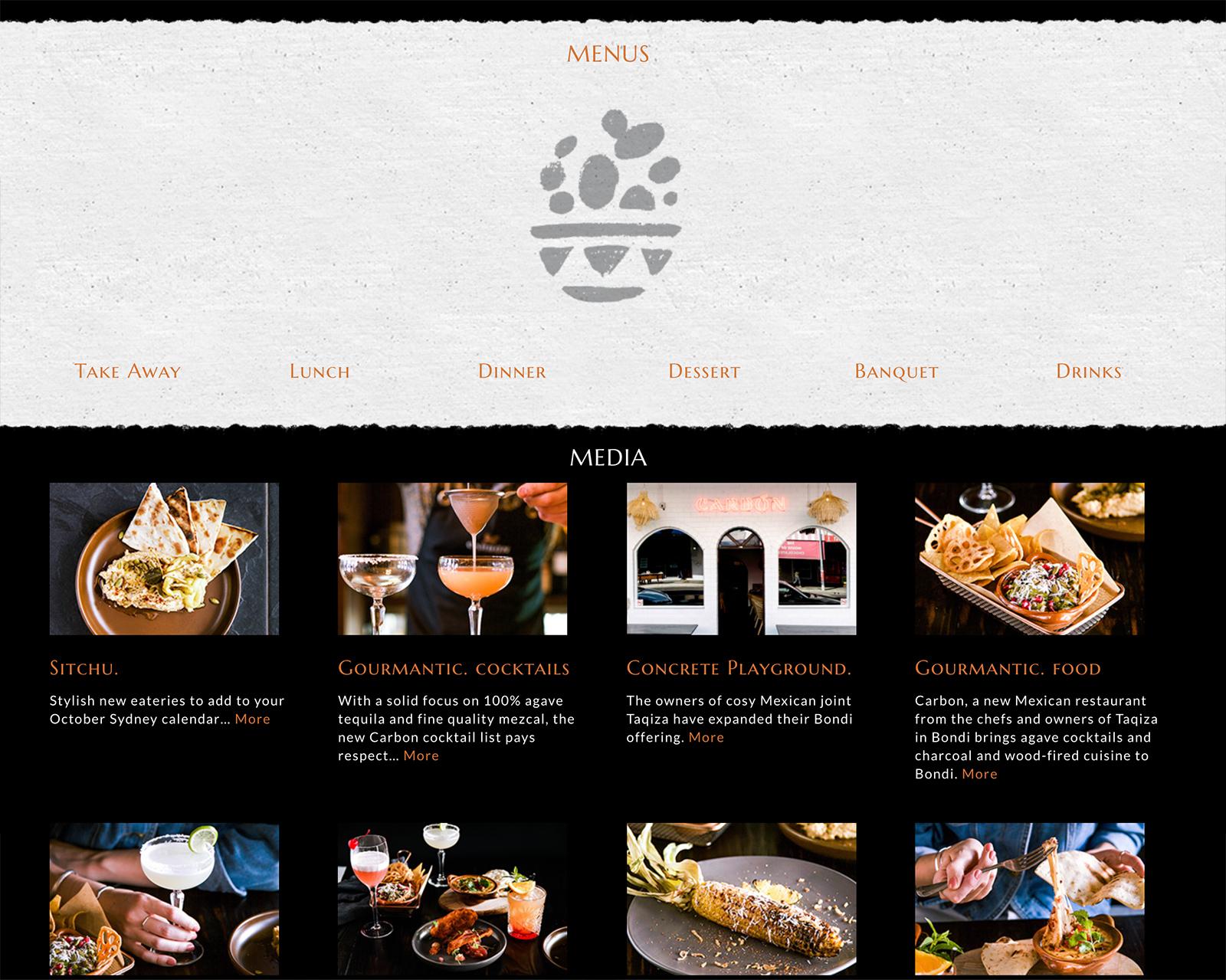 Honey Rogue Design Carbon Mexican Bondi Website
