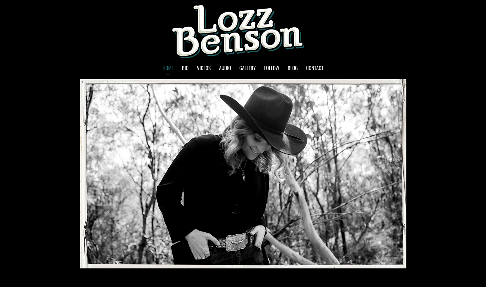 Honey Rogue Design Lozz Benson Website