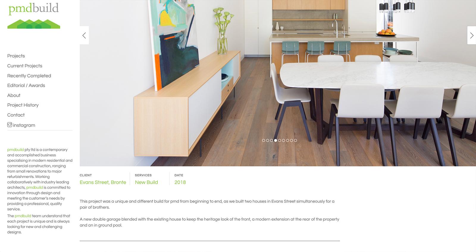 Honey Rogue Design PMD Build Website