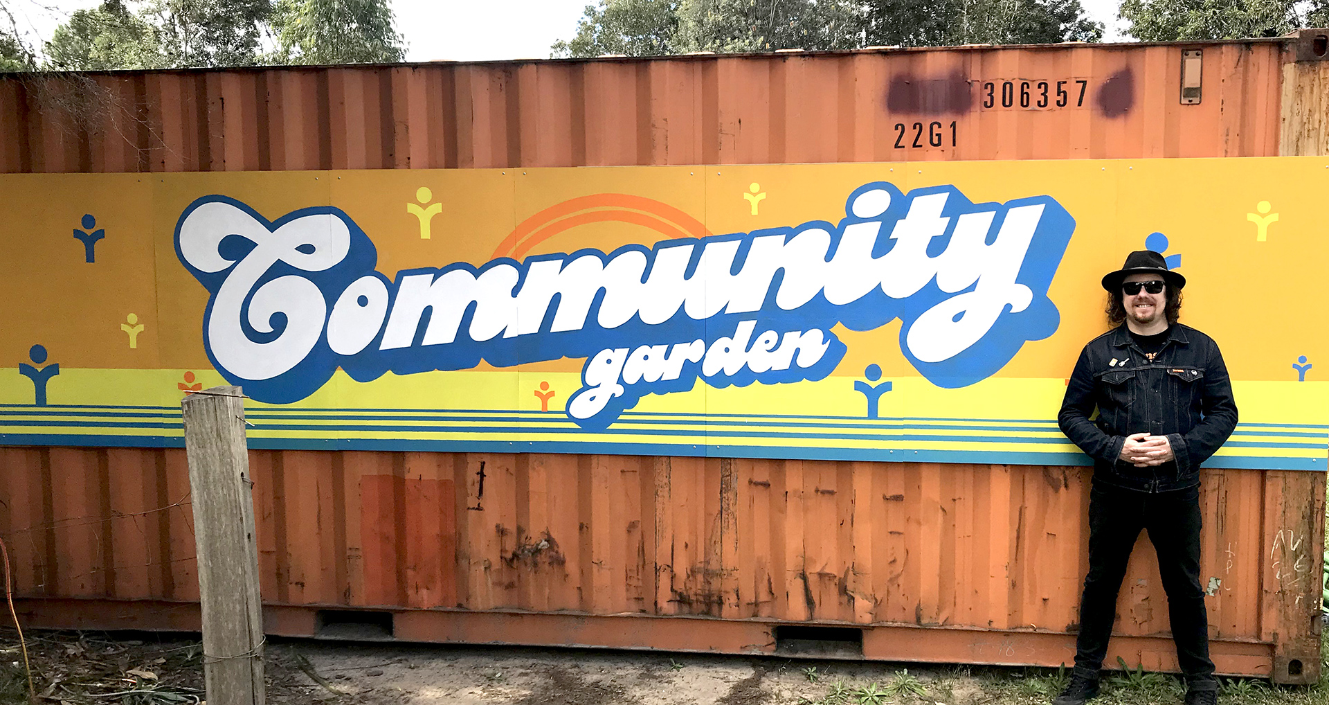 Honey Rogue Design Signage Southlake Community Services Mural