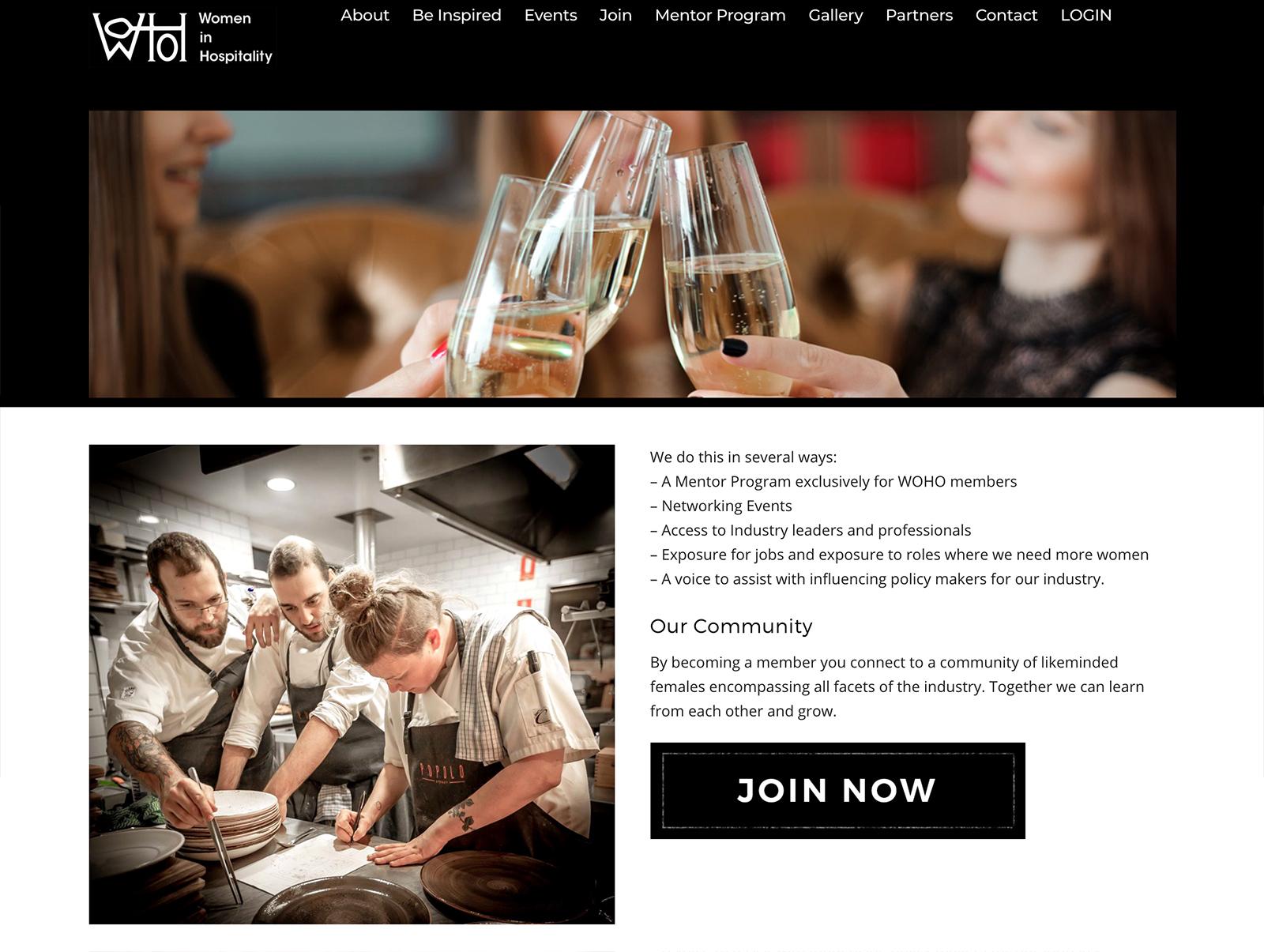 Honey Rogue Design Women In Hospitality Website